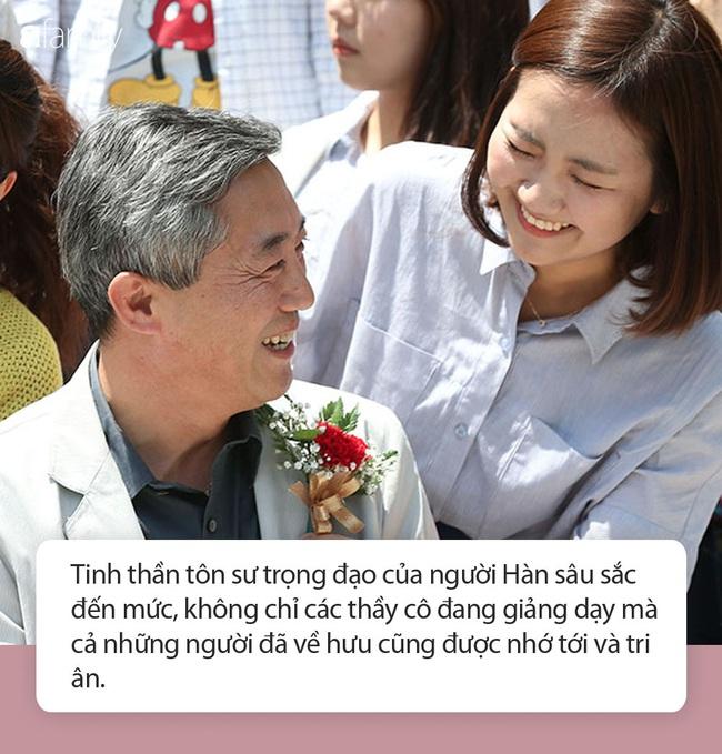 Ngó qua ngày Nhà giáo Hàn Quốc: Đủ hoạt động kỷ niệm thú vị, một loài hoa dành tặng thầy cô trong dịp này - Ảnh 5.