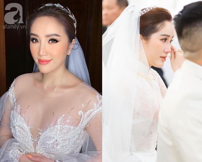 """Đến đám cưới của Bảo Thy là có thể khẳng định: Hầu hết các cô dâu showbiz đều """"đu"""" theo xu hướng trang điểm tông cam - Ảnh 2."""