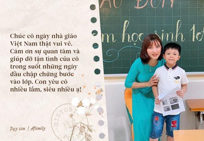 Nhân ngày nhà giáo Việt Nam, bố mẹ cùng con bỏ túi 10 câu chúc vừa ý nghĩa, vừa ấm áp tràn ngập tình thầy trò - Ảnh 3.
