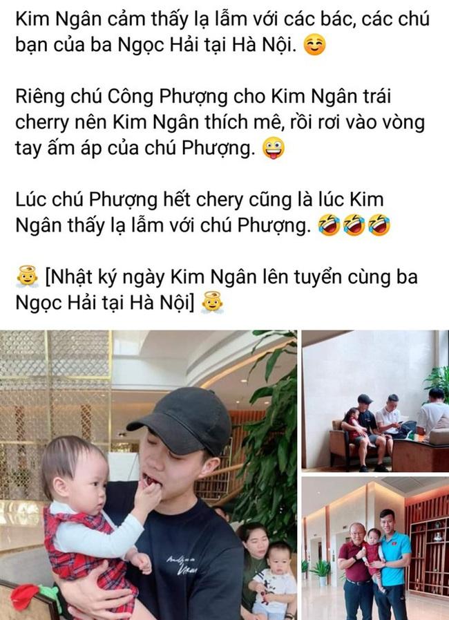 Con gái Quế Ngọc Hải được check-in cùng HLV Park, Công Phượng khiến fan xuýt xoa, ghen tị - Ảnh 2.