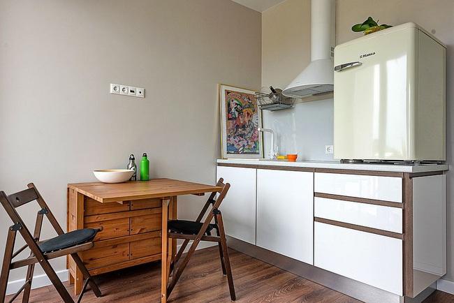 10 nhà bếp nhỏ vẫn có nơi ăn sáng đáng yêu, xinh xắn nhờ cách thiết kế thông minh - Ảnh 5.