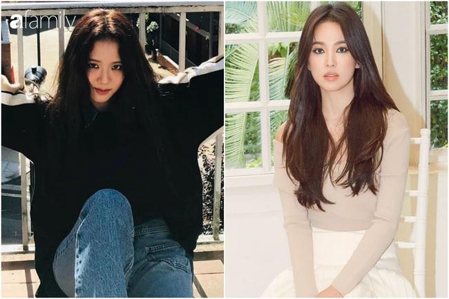 """Jisoo như """"bản sao hoàn hảo"""" của Song Hye Kyo khi cùng theo lối trang điểm cá tính - Ảnh 4."""