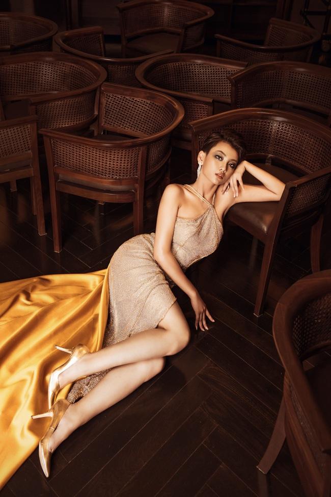 Top 45 Hoa hậu Hoàn vũ Việt Nam 2019: Thúy Vân khoe ngực khủng, Tường Linh khoe chân siêu dài nhưng không gây chú ý bằng thí sinh tóc tém giống H'Hen Niê - Ảnh 2.