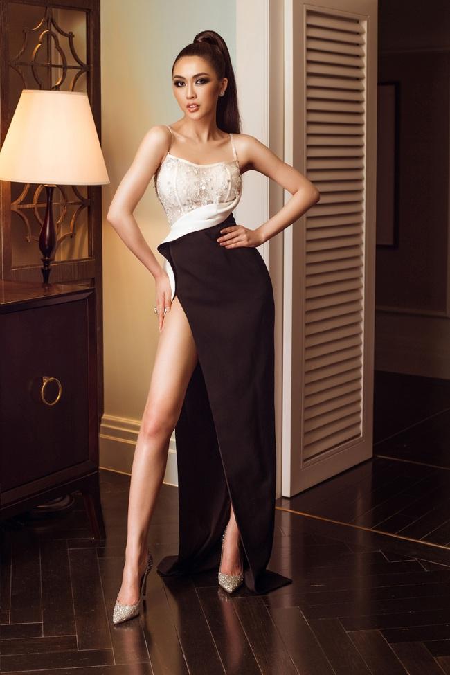 Top 45 Hoa hậu Hoàn vũ Việt Nam 2019: Thúy Vân khoe ngực khủng, Tường Linh khoe chân siêu dài nhưng không gây chú ý bằng thí sinh tóc tém giống H'Hen Niê - Ảnh 4.