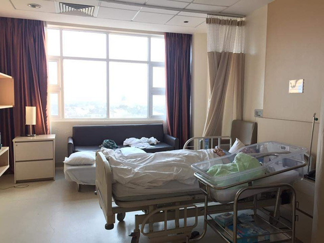 Mẹ Sài Gòn và trải nghiệm sinh thường ở viện Quốc tế sướng như tiên, chi phí hết gần 60 triệu - Ảnh 5.