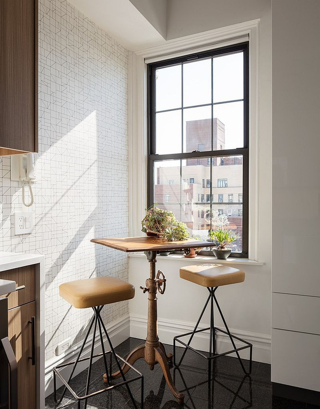 10 gợi ý tuyệt vời tạo góc ăn sáng đầy nhớ nhung trong căn bếp nhỏ - Ảnh 1.
