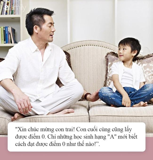 Khuyến khích con được điểm 0, cách dạy con đầy vô lý của ông bố khiến dân mạng khen ngợi hết lời - Ảnh 4.