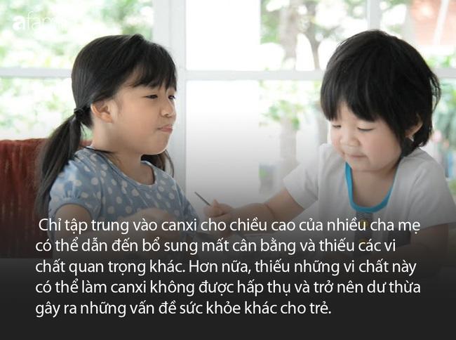 Chuyên gia chỉ ra 4 sai lầm của cha mẹ cản trở sự phát triển chiều cao của trẻ - Ảnh 5.