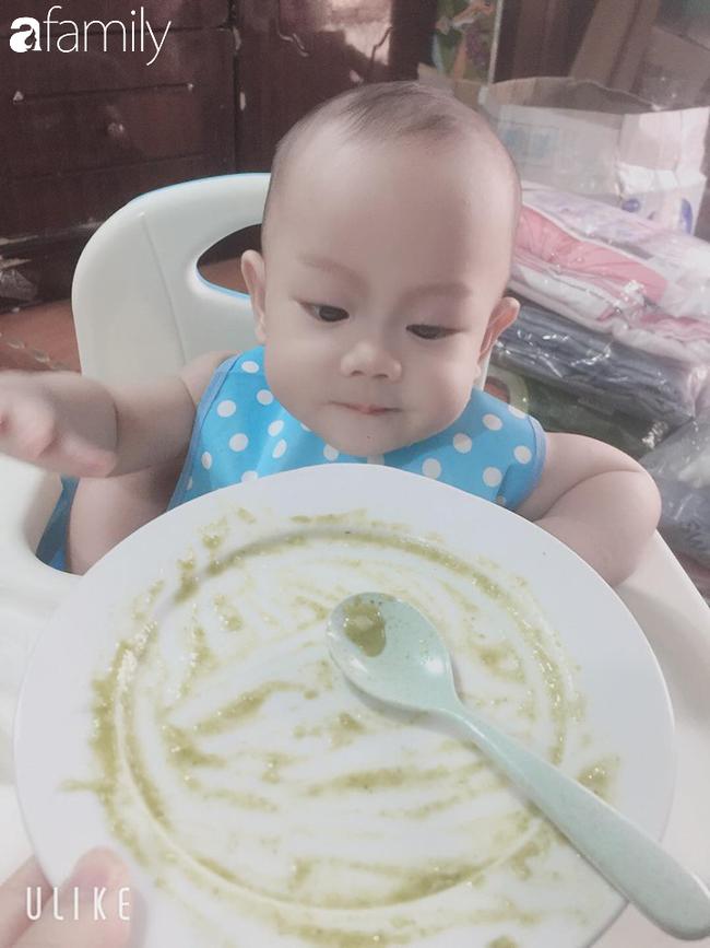 Mẹ đảm Sơn La khoe thực đơn ăn dặm truyền thống ngon miệng, nhiều dưỡng chất cho con trai 9 tháng tuổi - Ảnh 2.
