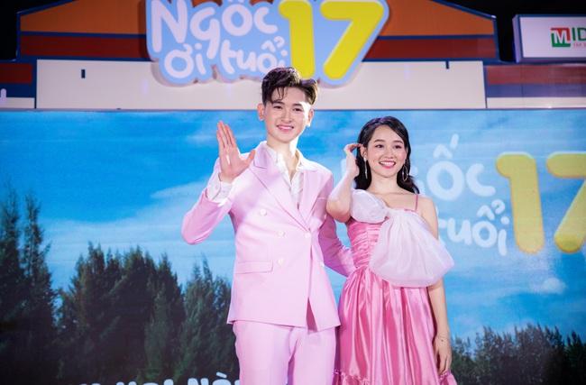 """Nữ chính """"Mắt biếc"""" cặp kè với """"con trai nuôi"""" Minh Nhí đến dính bầu trong phim mới nói về tuổi học trò  - Ảnh 2."""