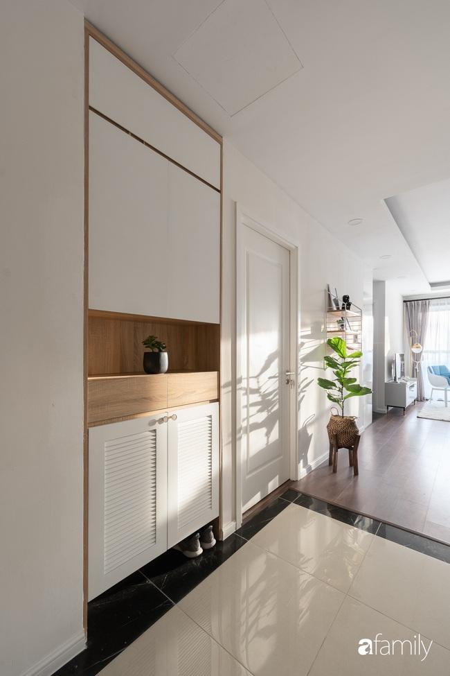 Căn hộ 2 phòng ngủ được decor trong lành như làn gió sớm mang phong cách Bắc Âu ở phố Minh Khai, Hà Nội - Ảnh 2.
