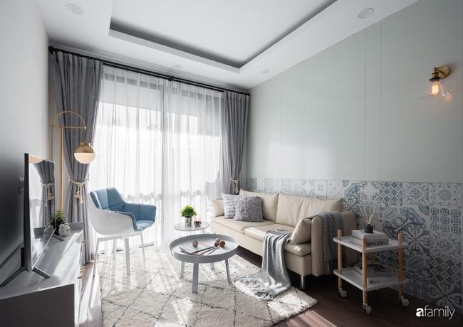 Căn hộ 2 phòng ngủ được decor trong lành như làn gió sớm mang phong cách Bắc Âu ở phố Minh Khai, Hà Nội - Ảnh 7.