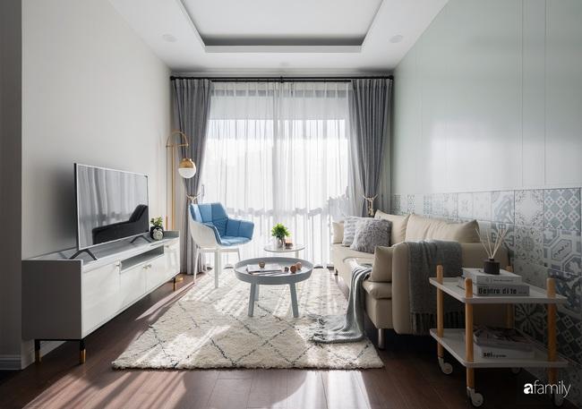 Căn hộ 2 phòng ngủ được decor trong lành như làn gió sớm mang phong cách Bắc Âu ở phố Minh Khai, Hà Nội - Ảnh 4.