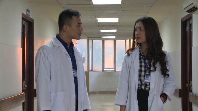 """""""Không lối thoát"""" tập 17: Vợ Minh - Lương Thế Thành sốc khi thấy chồng đi với bồ nhí, bị xe tông sảy thai - Ảnh 3."""