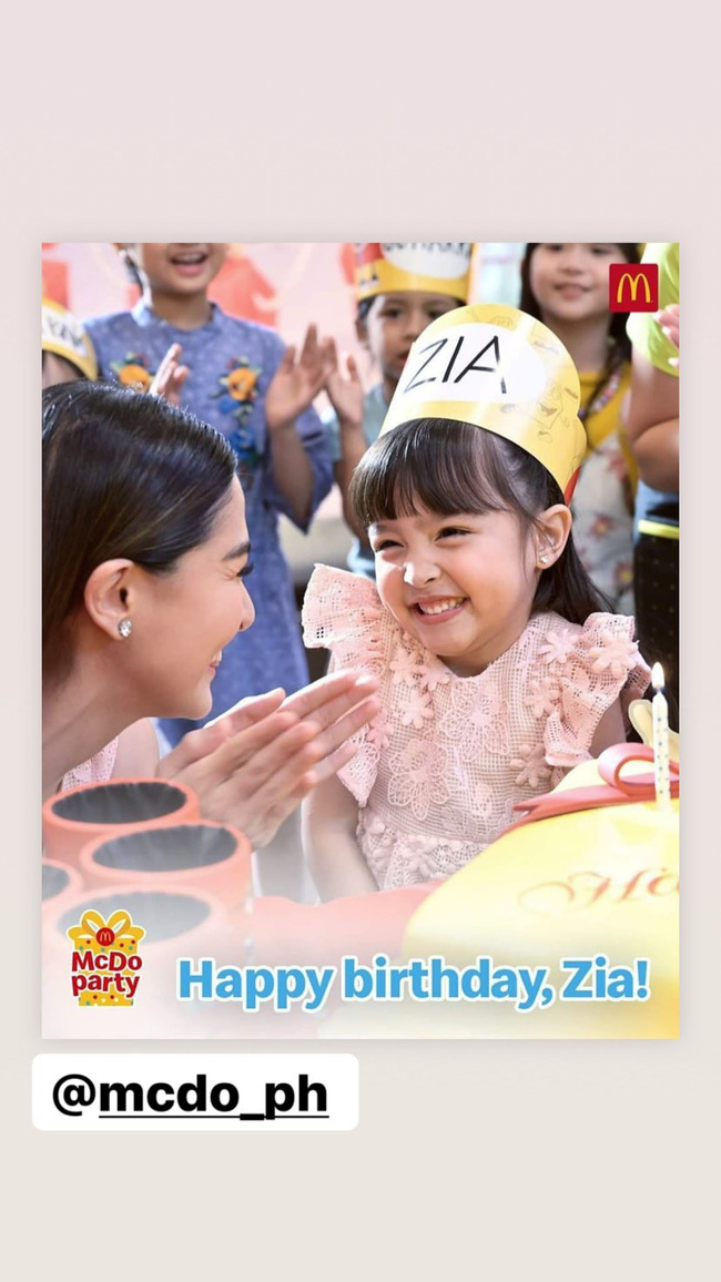"""Không chỉ xinh như công chúa trong tiệc sinh nhật 4 tuổi, con gái """"Mỹ nhân đẹp nhất Philippines"""" còn được nhận điều đáng ghen tị này - Ảnh 3."""