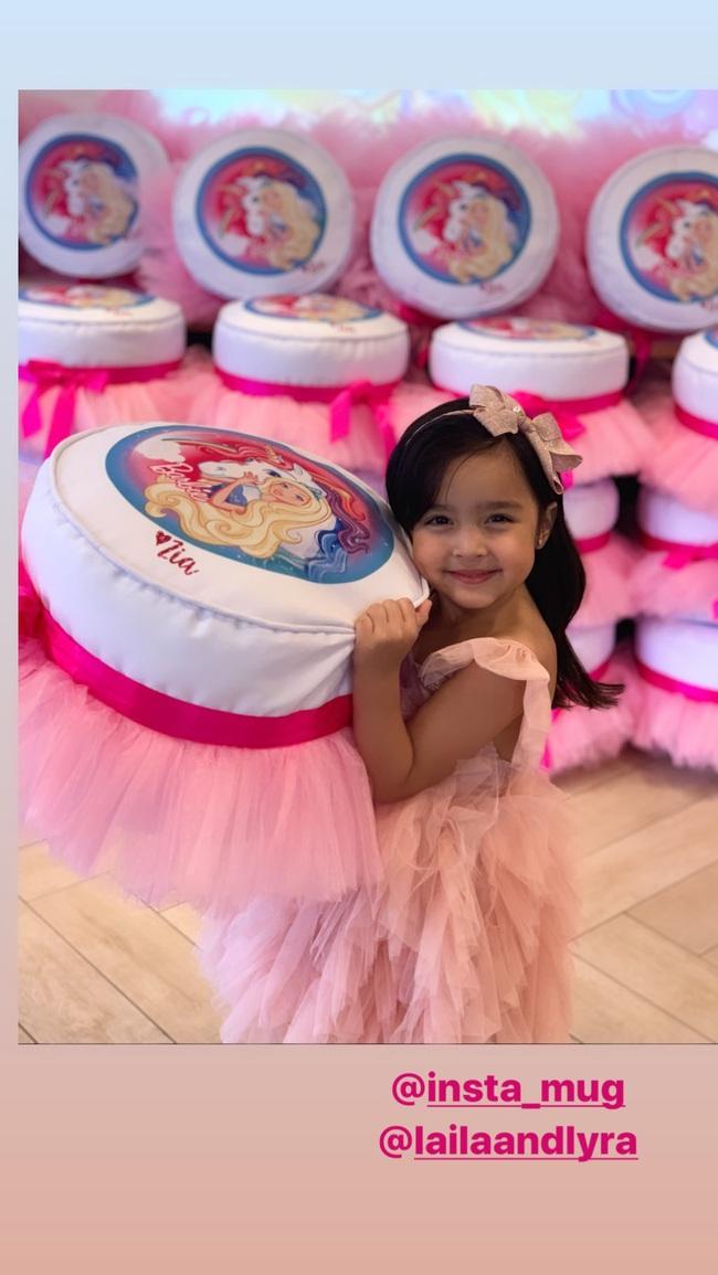 """Không chỉ xinh như công chúa trong tiệc sinh nhật 4 tuổi, con gái """"Mỹ nhân đẹp nhất Philippines"""" còn được nhận điều đáng ghen tị này - Ảnh 2."""