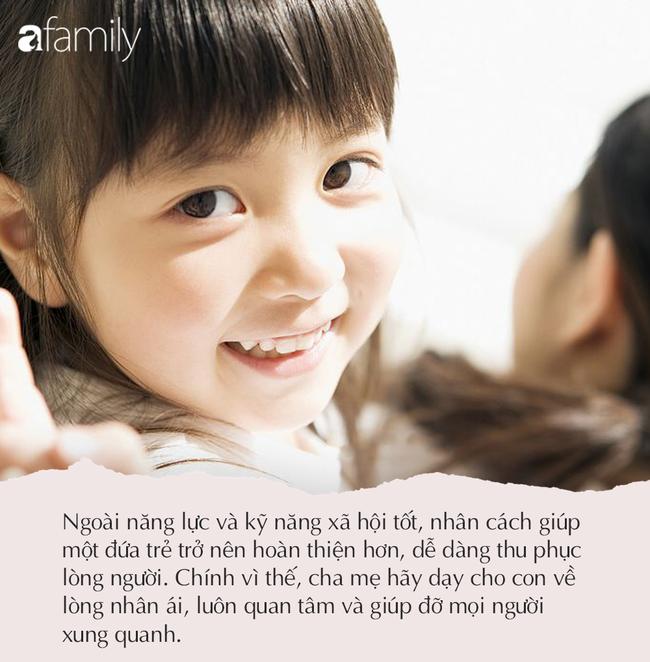 Để tăng cơ hội trong tương lai, cha mẹ hãy dạy con thành thạo 4 kỹ năng này hiệu quả hơn vùi đầu vào học đạt điểm 10 - Ảnh 4.