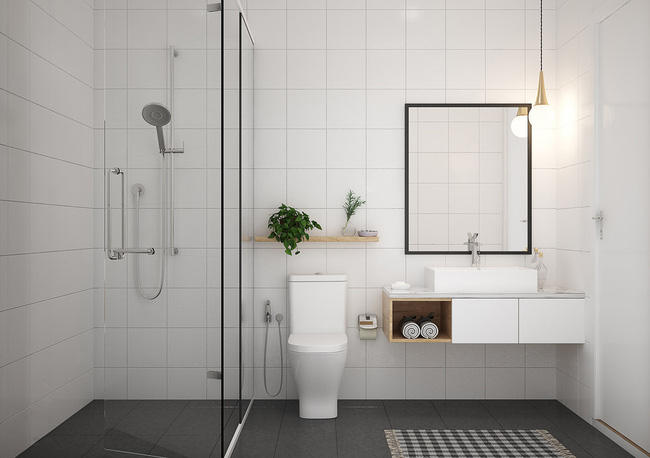 Tư vấn thiết kế căn hộ chung cư 45m2 dành cho người sống độc thân với chi phí 110 triệu đồng - Ảnh 5.