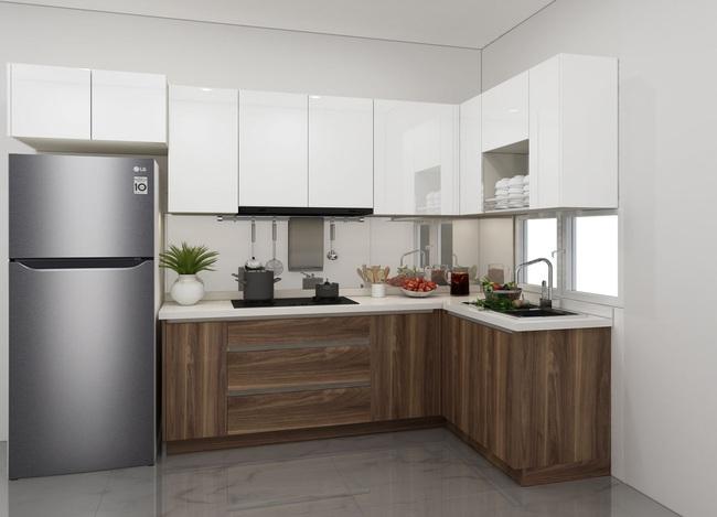 Tư vấn thiết kế căn hộ chung cư 45m2 dành cho người sống độc thân với chi phí 110 triệu đồng - Ảnh 7.