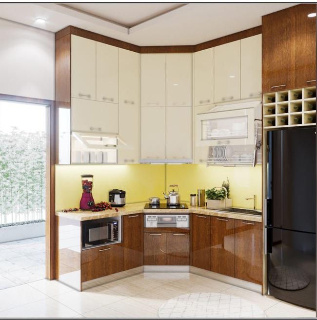 Tư vấn thiết kế căn hộ chung cư 45m2 dành cho người sống độc thân với chi phí 110 triệu đồng - Ảnh 8.
