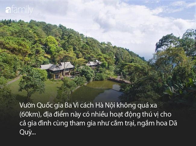 Cách Hà Nội 60km lái xe, đây đích thị là địa điểm lý tưởng để cha mẹ đưa con cái đi vui chơi cuối tuần - Ảnh 2.
