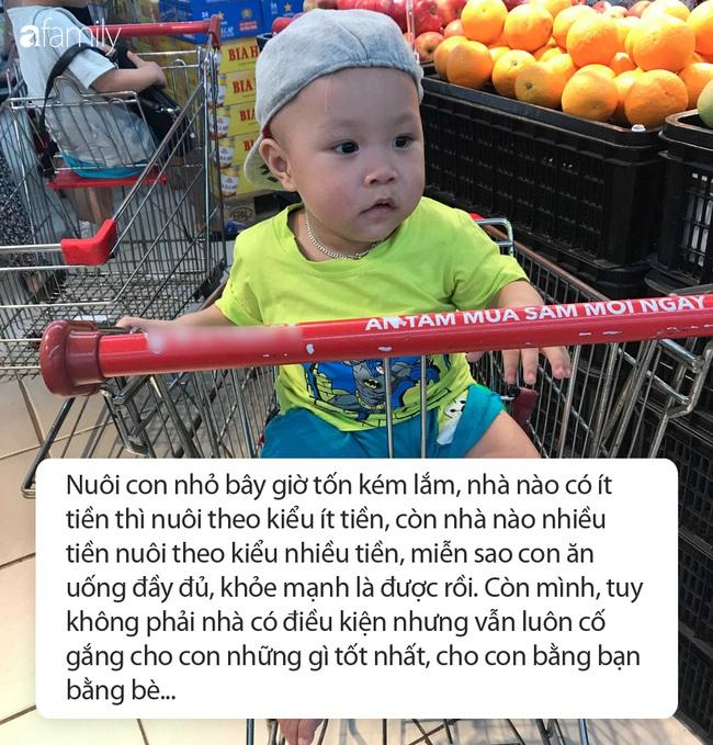 Mẹ Hà Nội chi 10 triệu nuôi con mỗi tháng, có tháng không còn đồng nào vẫn phải dồn hết cho con - Ảnh 2.