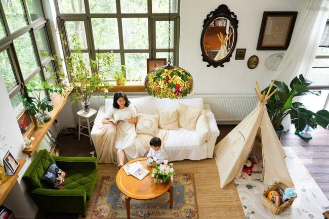 Ngôi nhà đổ nát rộng 185m2 biến thành tổ ấm dịu dàng đầy nắng và cây xanh của gia đình trẻ - Ảnh 3.