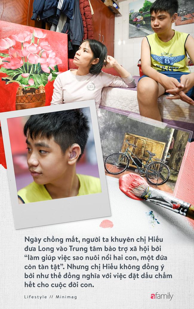 Cậu bé tự kỉ 9 tuổi mê tranh Van Gogh với bức tranh được đấu tranh trăm triệu: Con sẽ trở thành họa sĩ nổi tiếng, sẽ mua nhà và cho mẹ đi du lịch - Ảnh 4.
