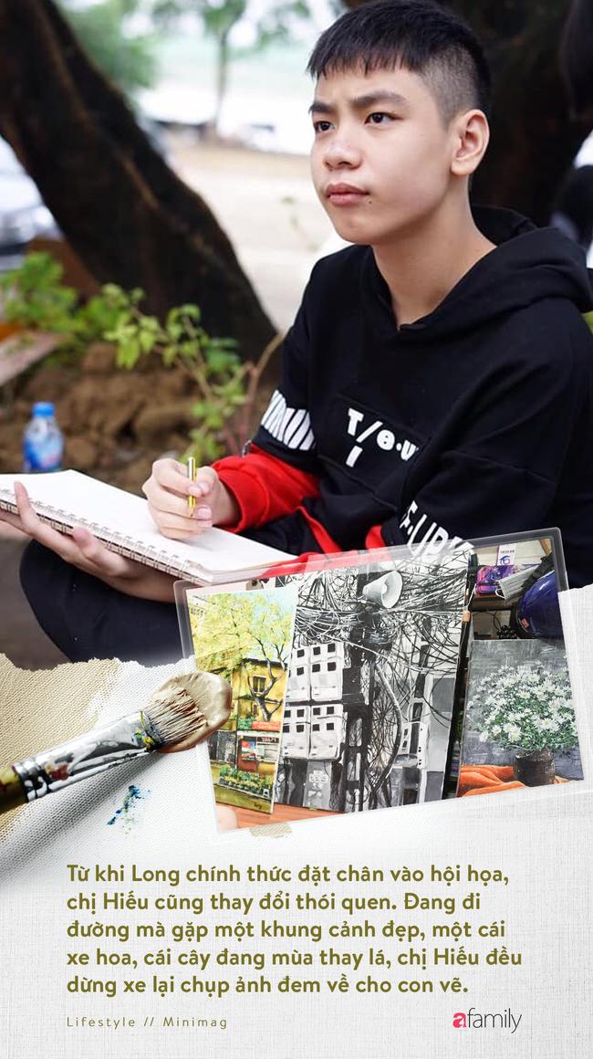 Cậu bé tự kỉ 9 tuổi mê tranh Van Gogh với bức tranh được đấu tranh trăm triệu: Con sẽ trở thành họa sĩ nổi tiếng, sẽ mua nhà và cho mẹ đi du lịch - Ảnh 12.