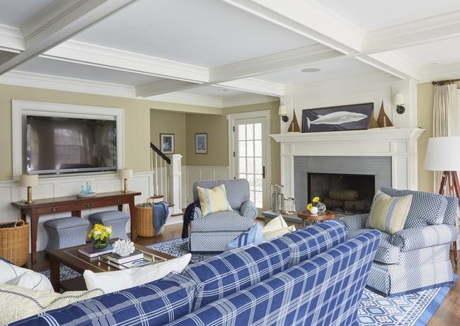 Cùng ngắm các mẫu phòng khách chỉ dành cho những ai yêu thích màu nổi - Ảnh 5.