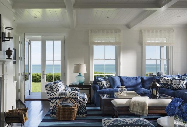 Cùng ngắm các mẫu phòng khách chỉ dành cho những ai yêu thích màu nổi - Ảnh 7.