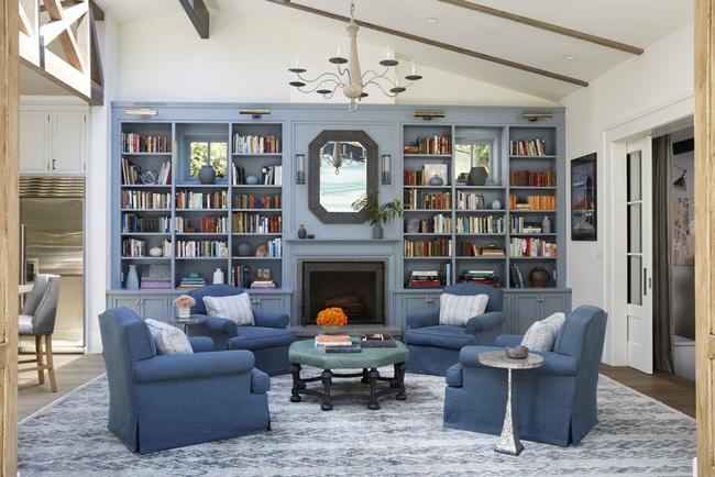 Cùng ngắm các mẫu phòng khách chỉ dành cho những ai yêu thích màu nổi - Ảnh 8.
