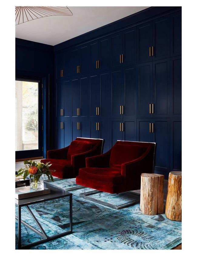 Cùng ngắm các mẫu phòng khách chỉ dành cho những ai yêu thích màu nổi - Ảnh 9.