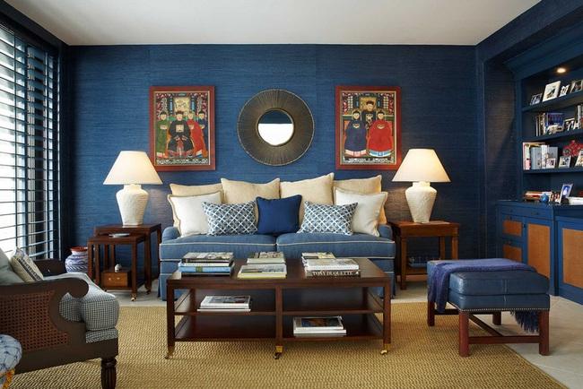 Cùng ngắm các mẫu phòng khách chỉ dành cho những ai yêu thích màu nổi - Ảnh 18.