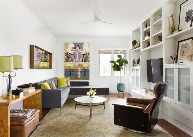 Cùng ngắm các mẫu phòng khách chỉ dành cho những ai yêu thích màu nổi - Ảnh 21.