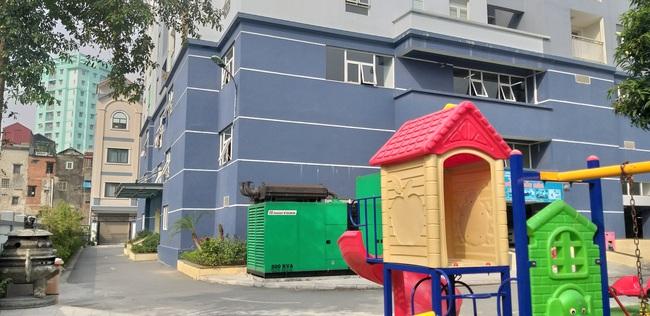 Chỉ có 01 khu vui chơi cho trẻ em rộng khoảng vài chục mét vuông