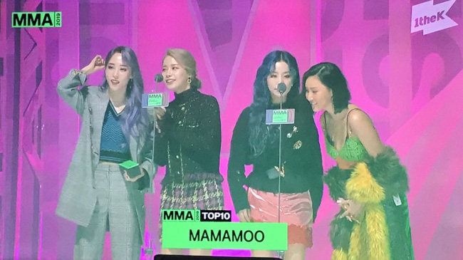 """Kết quả MMA 2019: BTS """"hốt trọn"""" 4 Daesang, Chungha vượt mặt TWICE giành giải Best Dance - Ảnh 5."""