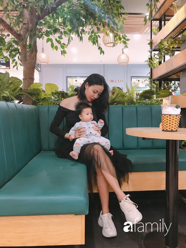 9X Lào Cai đẹp bất chấp bầu bí, vừa xuống bàn đẻ bụng đã... lép kẹp, nuôi con bỉm sữa mà trẻ- chất như fashionista  - Ảnh 7.