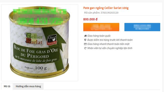 Bị cấm tại Mỹ nhưng về Việt Nam gan ngỗng béo vẫn được bán với giá đắt cắt cổ và được giới nhà giàu ưa chuộng - Ảnh 9.
