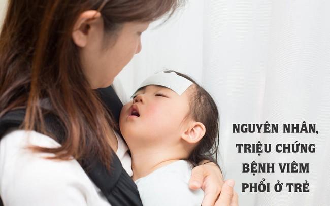 Viêm phổi là bệnh lây nhiễm nguy hiểm và gây tử vong nhiều hơn bất cứ bệnh nào: Nguyên nhân và triệu chứng bệnh viêm phổi ở trẻ nhỏ - Ảnh 1.