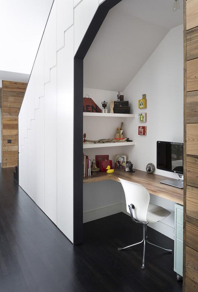 Sử dụng không gian dưới cầu thang một cách siêu thông minh giúp bạn lưu trữ hiệu quả - Ảnh 7.