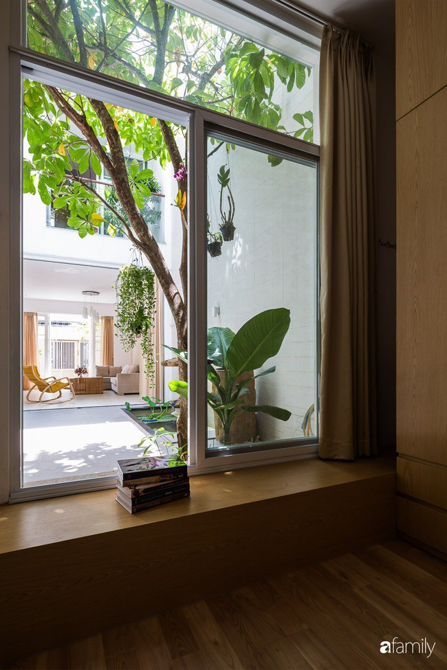 Nhà phố len lỏi hơi thở trong lành giữa lòng phố thị Sài Gòn - Ảnh 7.