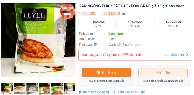 Bị cấm tại Mỹ nhưng về Việt Nam gan ngỗng béo vẫn được bán với giá đắt cắt cổ và được giới nhà giàu ưa chuộng - Ảnh 6.
