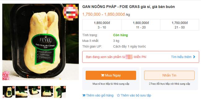 Bị cấm tại Mỹ nhưng về Việt Nam gan ngỗng béo vẫn được bán với giá đắt cắt cổ và được giới nhà giàu ưa chuộng - Ảnh 4.
