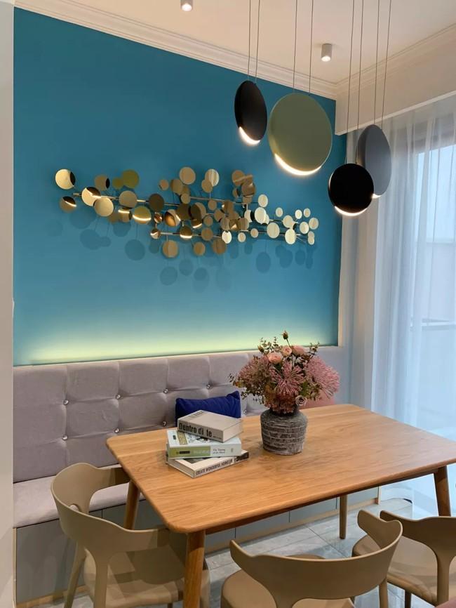 Căn hộ 89m2 đẹp như tranh vẽ của gia chủ yêu những màu xanh - Ảnh 7.