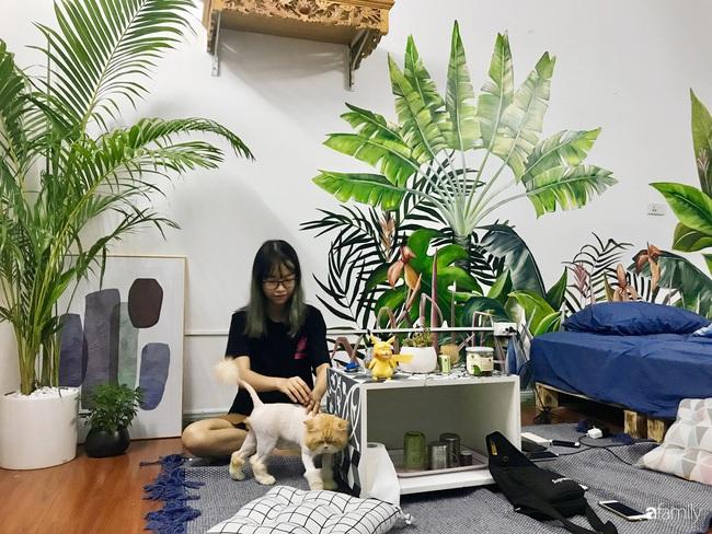 Chàng trai 9X biến căn hộ tập thể cho thuê rộng 30m2 thành tổ ấm đẹp như cổ tích với chi phí 10 triệu đồng ở Hà Nội - Ảnh 15.