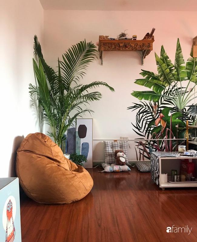 Chàng trai 9X biến căn hộ tập thể cho thuê rộng 30m2 thành tổ ấm đẹp như cổ tích với chi phí 10 triệu đồng ở Hà Nội - Ảnh 13.