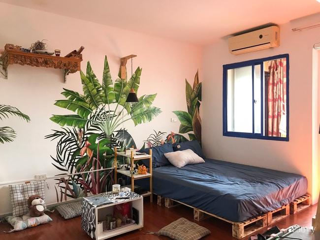 Chàng trai 9X biến căn hộ tập thể cho thuê rộng 30m2 thành tổ ấm đẹp như cổ tích với chi phí 10 triệu đồng ở Hà Nội - Ảnh 12.
