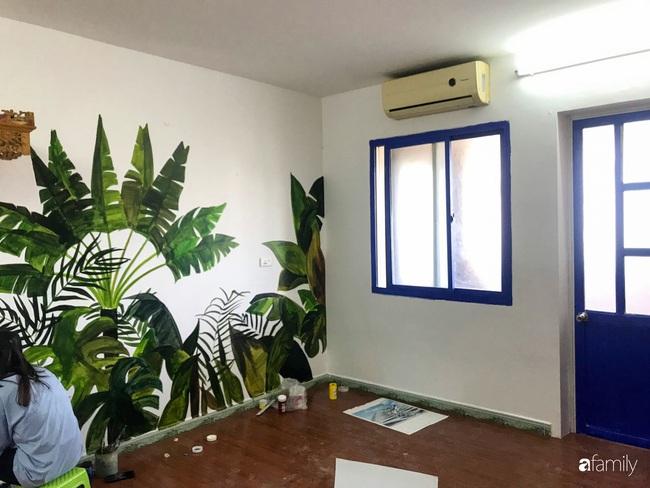 Chàng trai 9X biến căn hộ tập thể cho thuê rộng 30m2 thành tổ ấm đẹp như cổ tích với chi phí 10 triệu đồng ở Hà Nội - Ảnh 5.