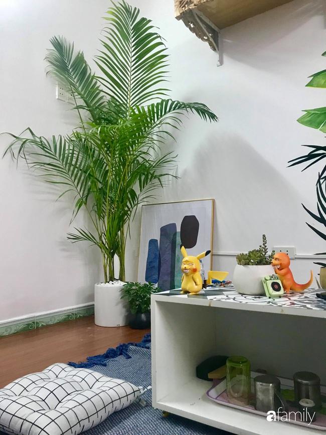 Chàng trai 9X biến căn hộ tập thể cho thuê rộng 30m2 thành tổ ấm đẹp như cổ tích với chi phí 10 triệu đồng ở Hà Nội - Ảnh 10.